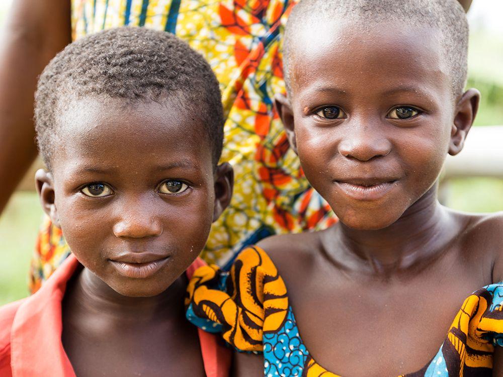 Niños Dia Mundial de Africa Anesvad